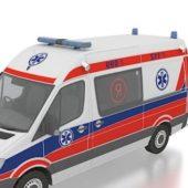 Mercedes Benz Ambulance Car