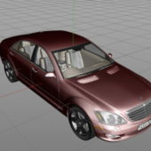 Premium Mercedes S-class Sedan Car