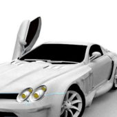 Mercedes Slr Mclaren Super Car