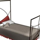 Metal Twin Bed Furniture