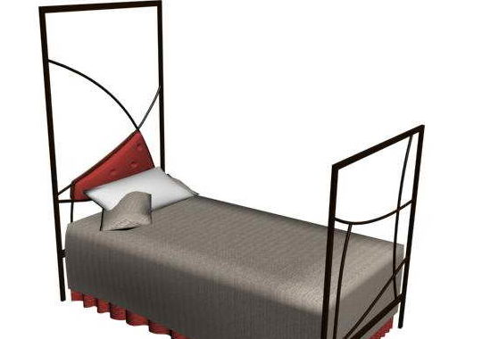 Metal Twin Bed Furniture