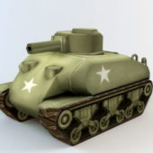 Military Army Cartoon Tank
