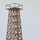 Military Iron Guard Tower