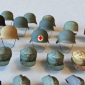 Military Helmets And Hats