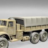 Russian Military Kraz Truck V1