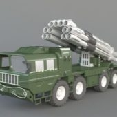 Army Missile Truck