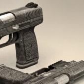 Military Police Pistol Gun