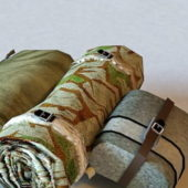 Military Surplus Backpack Harness