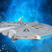 Millennium Falcon Spaceship