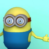 Minion Character Rigged