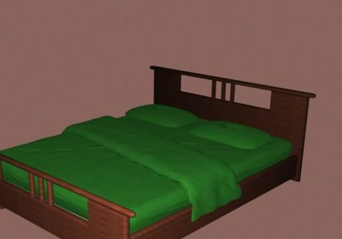 Furniture Style Double Bed