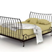 Bedroom Mission Style Iron Bed
