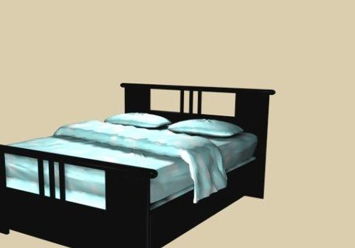 Wood Style Platform Bed