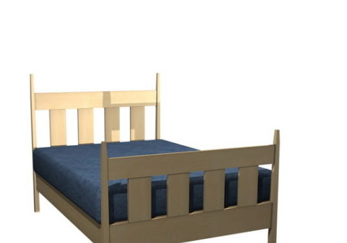 Furniture Mission Style Single Bed