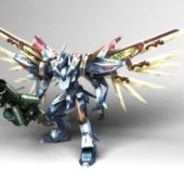 Mobile Suit Gundam Game Character