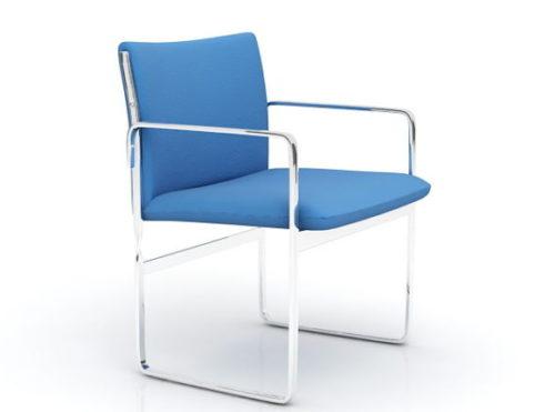Modern Chrome Chair Furniture