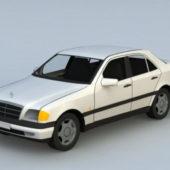 Car Classic Mercedes Sedan