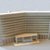 Modern Hotel Architecture Exterior