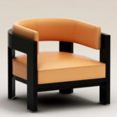 Furniture Leather Armchair