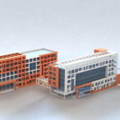 Modern Hospital Buildings Design