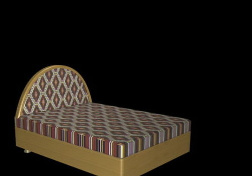 Home Furniture Bed With Headboard