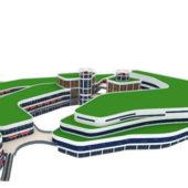 Modern Retail Building Architecture