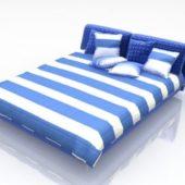 Modern Platform Bed With Drap