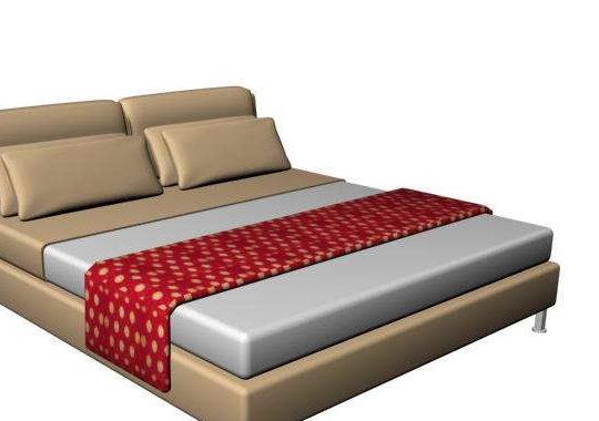 Modern Style Platform Bed Furniture