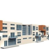 Townhouse Building Modern Style