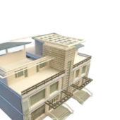 Modern Building Townhouse Design V1
