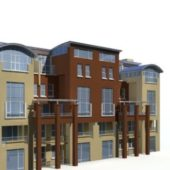 Modern City Townhouse Exterior Design