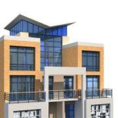 Modern Building Townhouse Design
