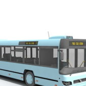 Modern City Transit Bus