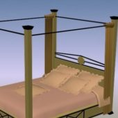 Modern Canopy Bed Furniture