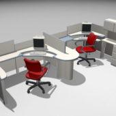Modular Furniture Office Workstations