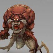 Monster Bug Character