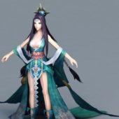 Moon Goddess Character