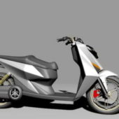 Moped Motorcycle Vehicle