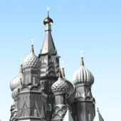 Moscow Kremlin Building