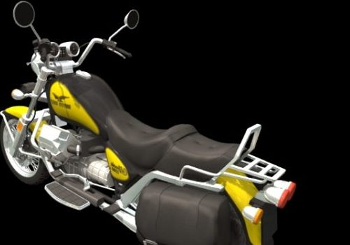 Motorcycle Moto Guzzi V1000