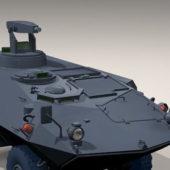 Military Mowag Wheeled Vehicle