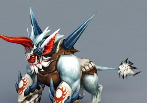 Mystic Anime Monster Animal