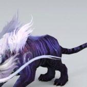 Mystical Tiger Fantasy Animal