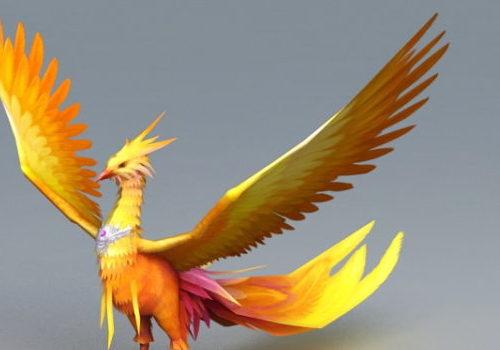Fantasy Mythical Phoenix Bird