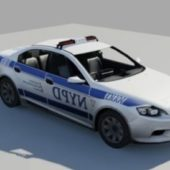 Nypd Ford Mondeo Car