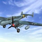 Germany Bf110 Fighter