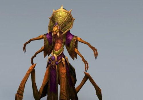 Nerubian Priest Monster Animal
