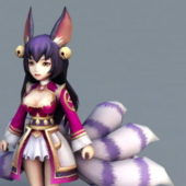 Beauty Anime Fox Girl