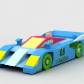 Racing Nissan Gtp Zx Car