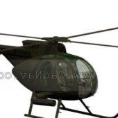Army Oh-6a Light Observation Helicopter